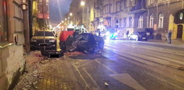 Pijany kierowca zabił pasażerkę w centrum Łodzi