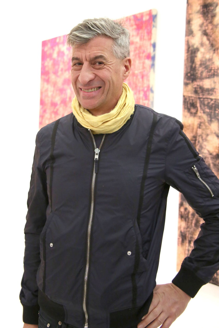 Włoski artysta Maurizio Cattelan