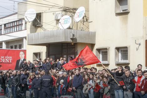 Na dočeku predsednika Albanije Bujara Nišanija