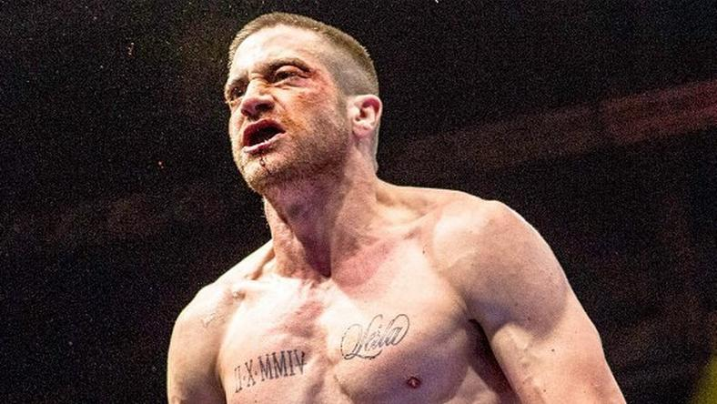 "American actor Jake Gyllenhaal in ""Southpaw"" movie."
