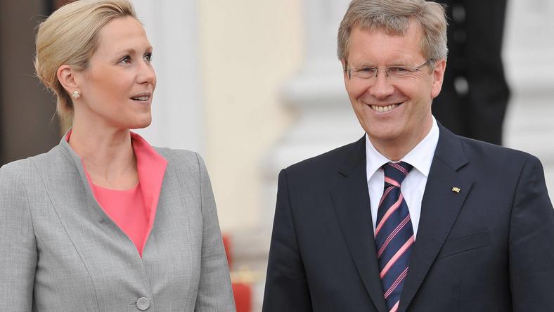 Bettina i Christian Wulff
