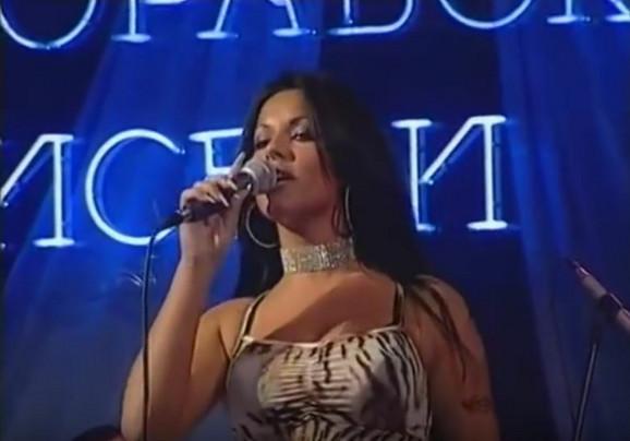 Seka Aleksić na početku karijere