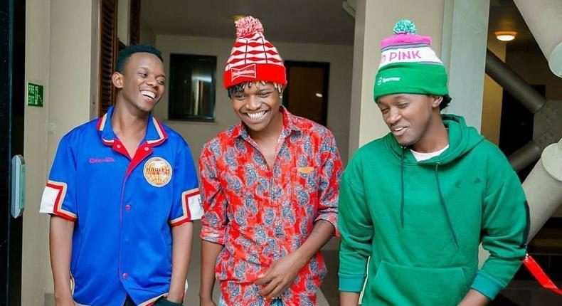 David Wonder, Mr Seed and Bahati (Instagram)