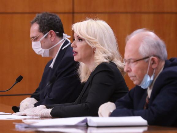 Dr Srđa Janković, dr Darija Kisić Tepavčević i dr Predrag Kon