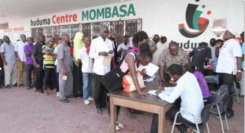 Kenyans register Huduma-Namba Reuters/Goran Tomasevic