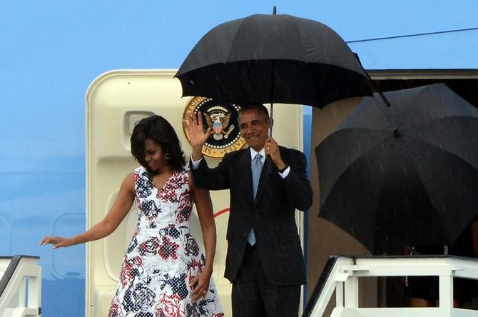 Mišel i Barak Obama, bivša prva dama i bivši predsednik Amerike