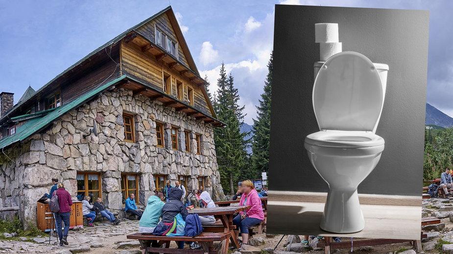 Ile kosztuje toaleta w schronisku Murowaniec na Hali Gąsienicowej