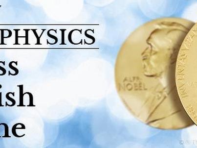 Nagroda Nobla w dziedzinie fizyki