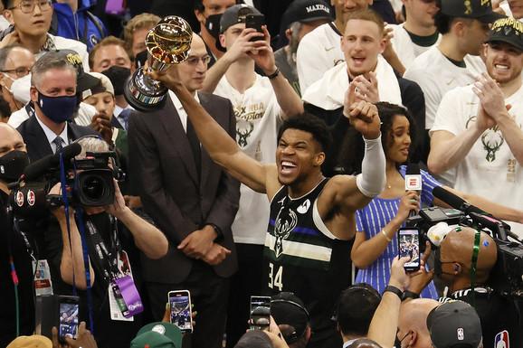 "Grk se ""upisao"" među besmrtne, Milvoki je ŠAMPION NBA lige!  Nestvarnom partijom Janis odveo Bakse do titule posle tačno pola veka!"