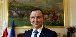 Andrzej Duda spędził Wielką Sobotę z rodziną w kościele