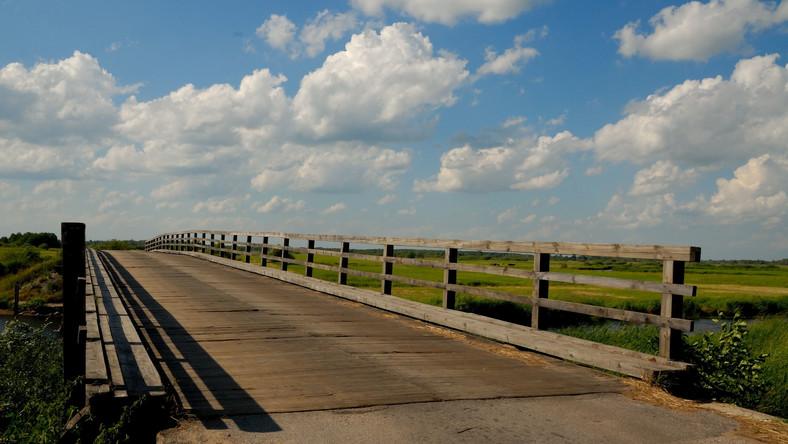 Most przez Biebrzę