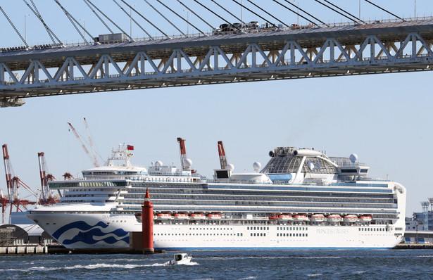 Dwójka obywateli RP opuściła w środę zacumowany w japońskim porcie wycieczkowiec Diamond Princess