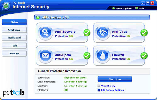 PC Tools Internet Security 2010