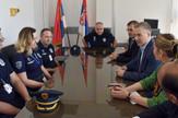 nebojša stefanović mup posetio stanicu granicne policije Beograd na Aerodromu