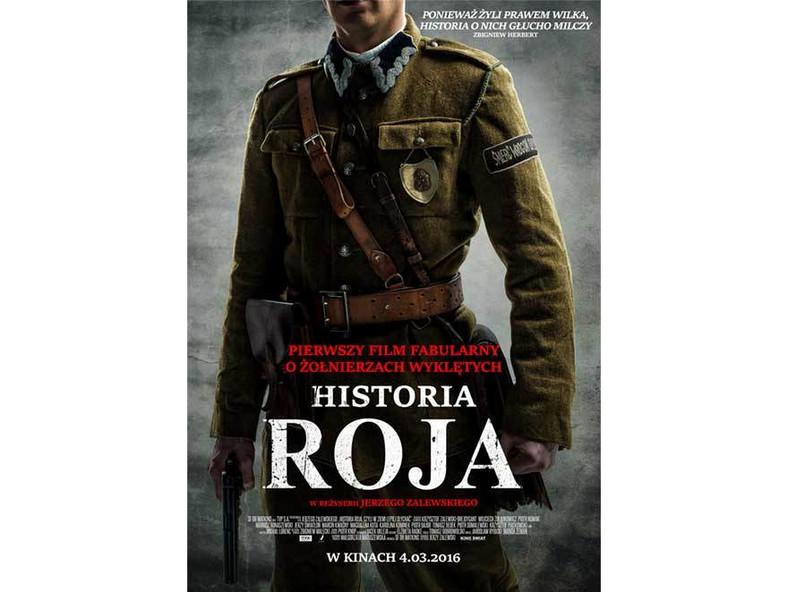 """Pierwszy plakat filmu """"Historia Roja"""""""