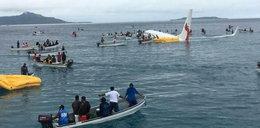 Koszmar podczas lądowania. Samolot ominął lotnisko i wpadł do oceanu