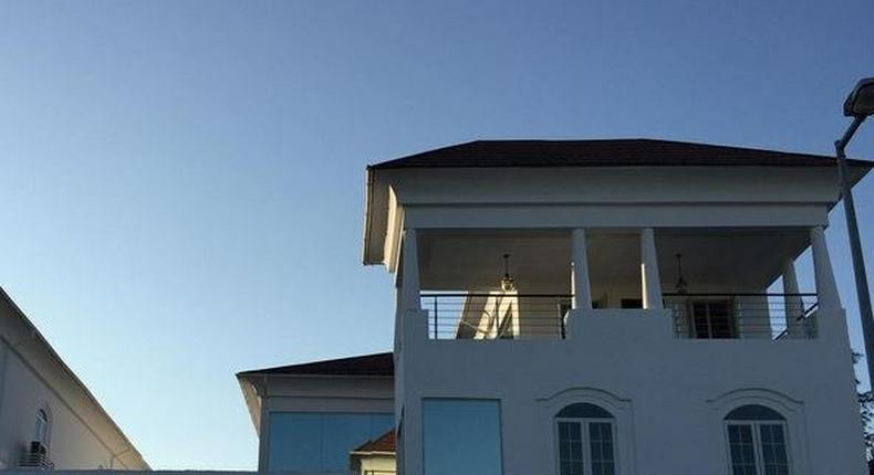 Linda Ikeji's Banana Island mansion
