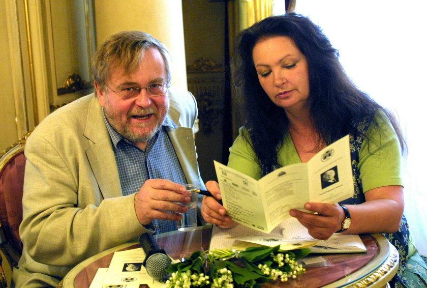 Anna Dymna i Krzysztof Orzechowski