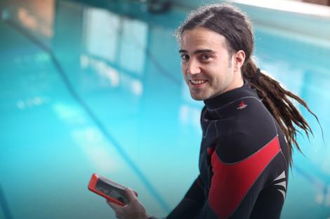 Mladen Jovanović, ronilac na dah