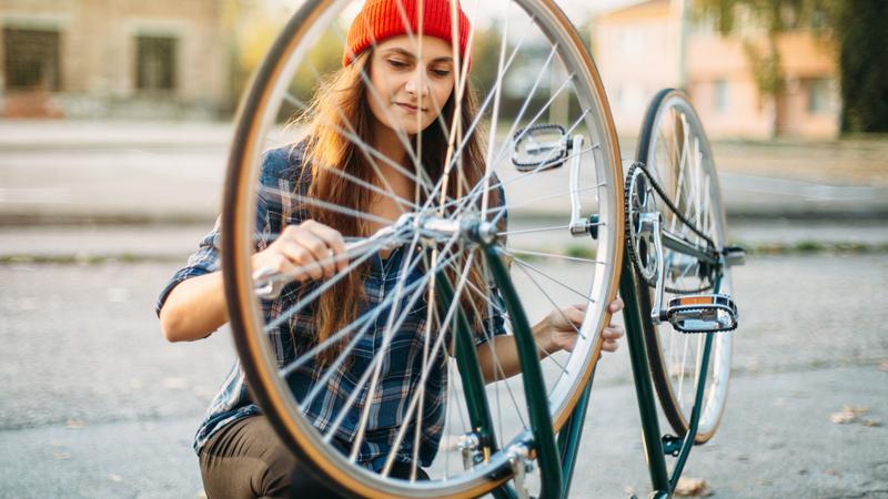 Jak przygotować do sezonu rower po zimie?
