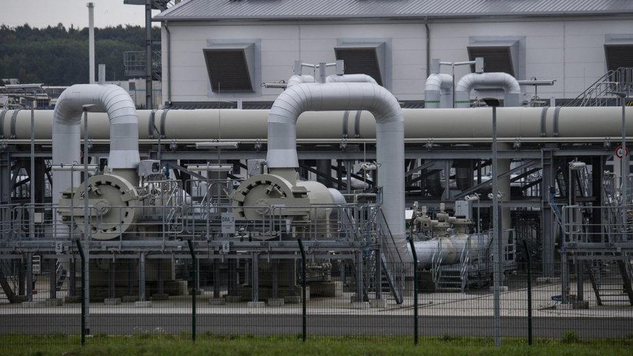 Jedna ze stacji Nord Stream 2 w Niemczech (zdjęcie ilustracyjne)