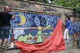mali princ mural grafit zemun