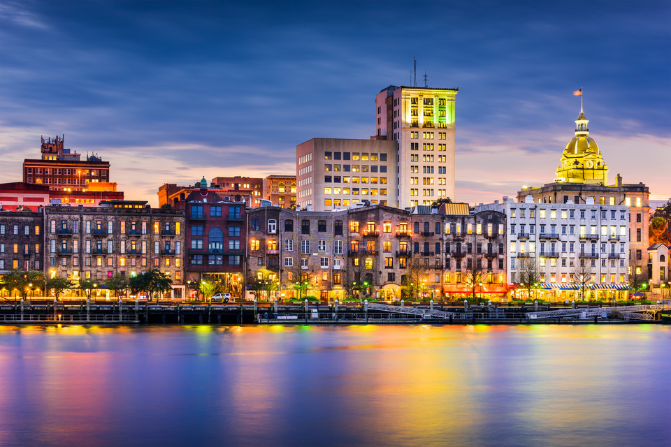 9. Savannah, USA