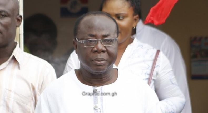 Freddie Blay, first vice chairman of NPP