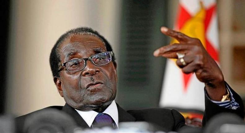Former President Robert Mugabe