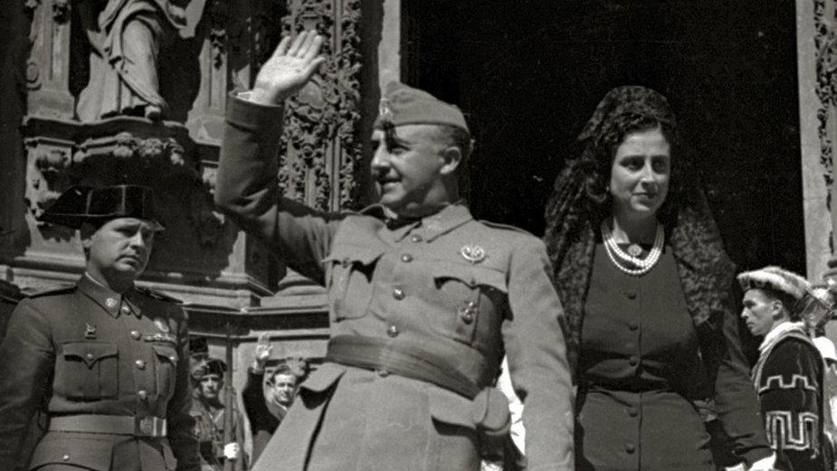 Wieloletni dyktator Hiszpanii Francisco Franco