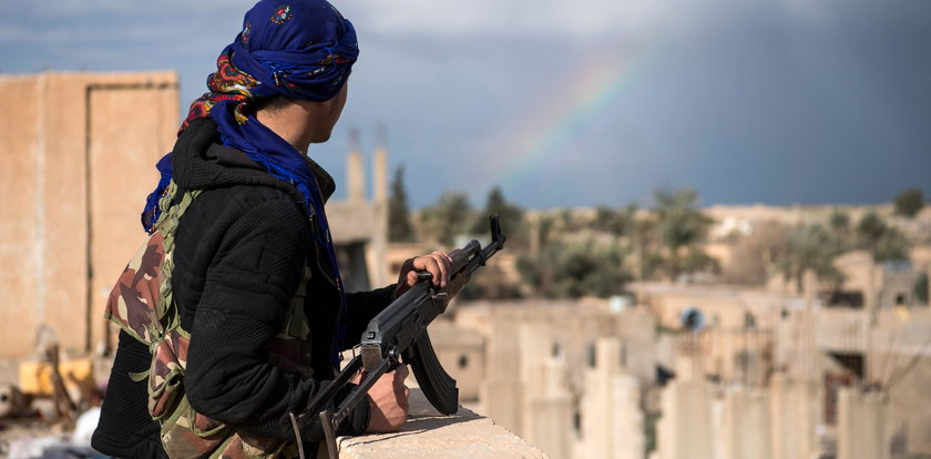 Żołnierze SAS świadkami koszmaru w Syrii
