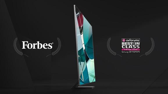 QLED TV Forbes priznanje