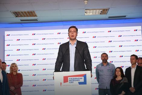 Čestitaće svima pobedu: Aleksandar Vučić