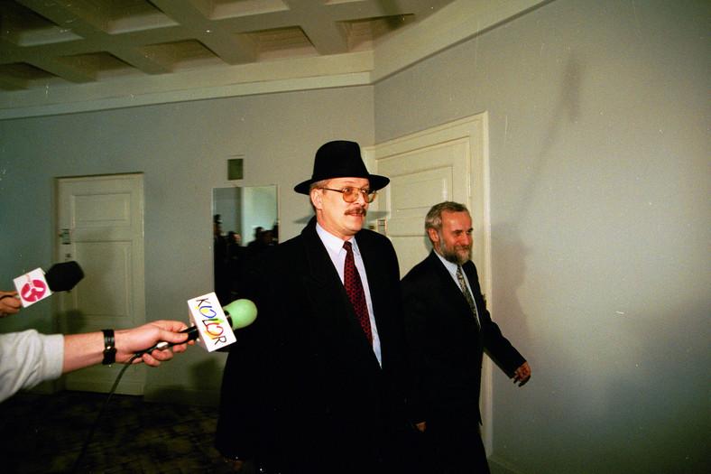 Rok 1996. Płk Andrzej Anklewicz w Sejmie