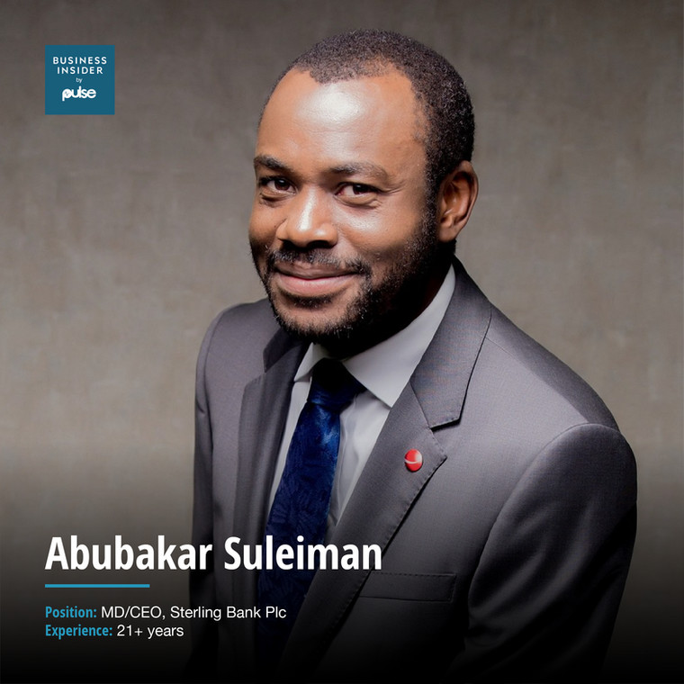 Abubakar Suleiman MD/CEO, Sterling Bank Plc