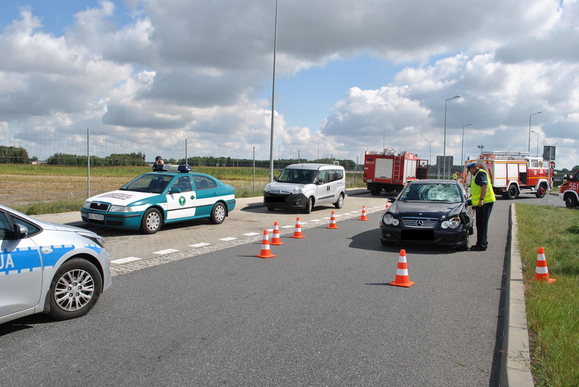 Tragiczny wypadek w Łódzkiem. Zginął Inspektor Transportu Drogowego