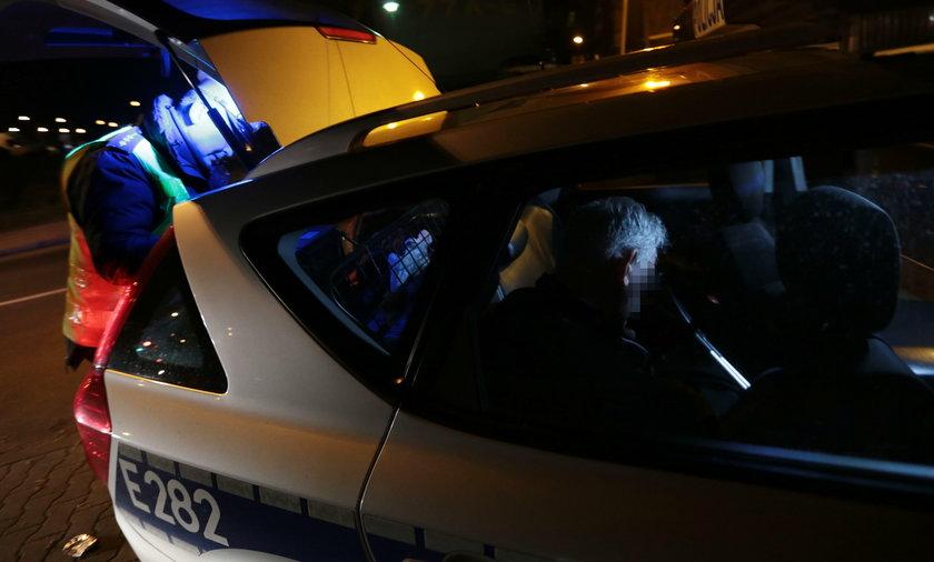 Pijany kierowca bez nogi staranował auto!