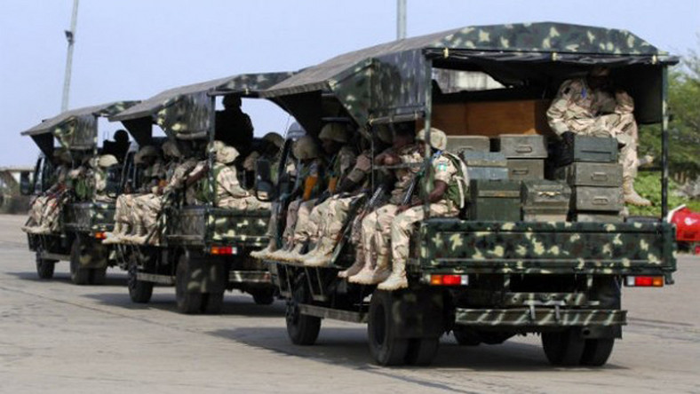Nigerian army troops successfully cleared three areas occupied by terrorists. This happened after an assault carried out with the Nigerian Air Force. - Champion Newspapers