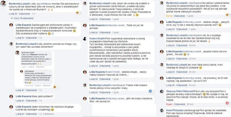 Lidia Kopania na Facebooku