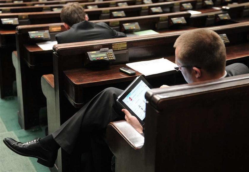 Właśnie kupiłeś posłom po iPadzie