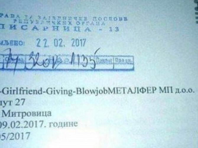 Dokument iz Sremske Mitrovice krije OPAKU BLAMAŽU: Da li primećujete SRAMOTNI DETALJ kom se smeje cela Srbija?