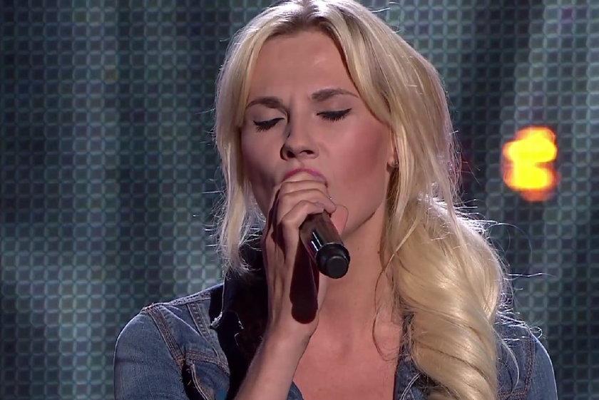 "Michalina Manios w ""The Voice of Poland"""