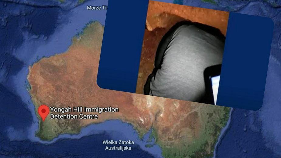 Australia: Imigranci planowali ucieczkę. Tunel odkryto w pokoju Polaka