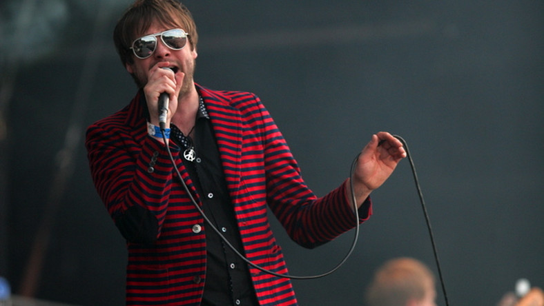 Tom Meighan zaśpiewa z Kasabian na Orange Warsaw Festival