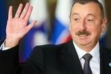 Ilham Alijev, Azerbejdžan, EPA  - STEPHANIE LECOCQ