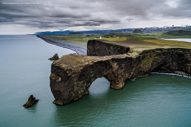 Islandzki krajobraz