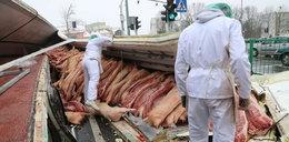 Świńskie mięso zasypało Olsztyn