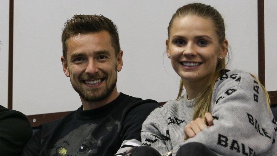 Artur Sobiech i Bogna Sobiech