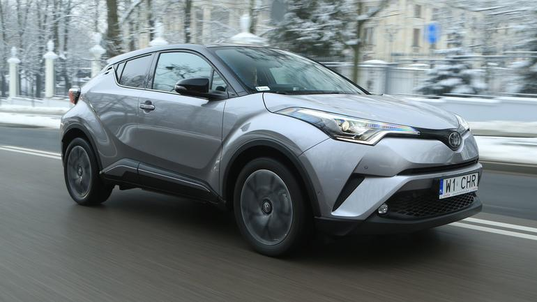 Toyota C-HR 1.2T - dla tych, co lubią się wyróżniać