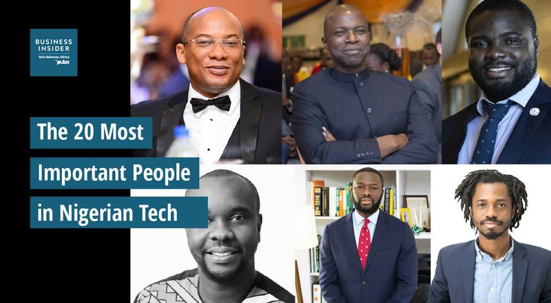 The 20 most important people in Nigerian tech